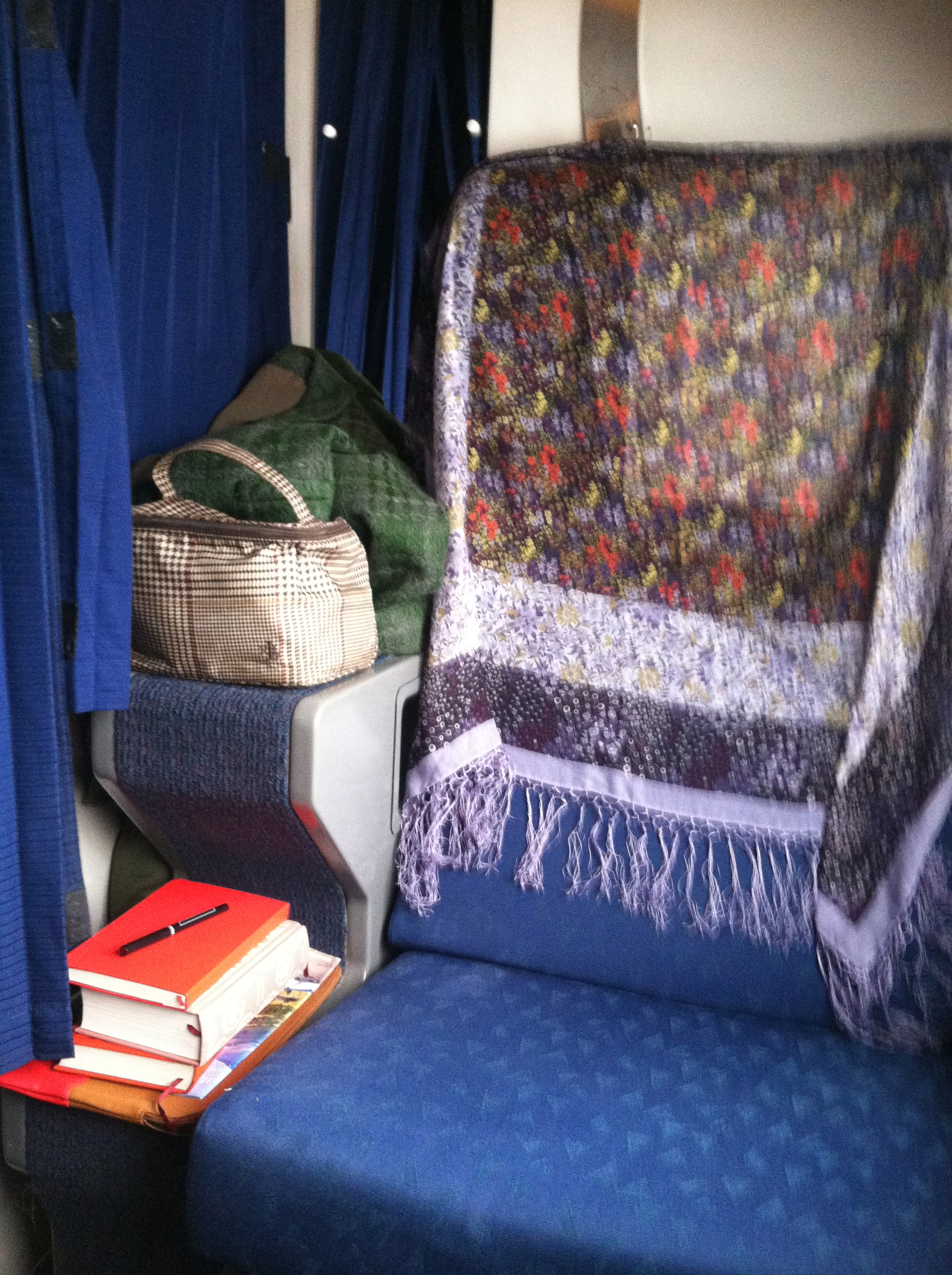 My comfy roomette.