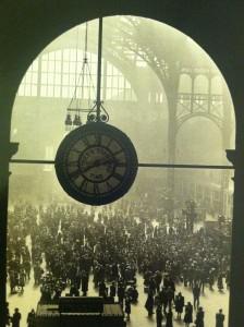 Ah, the lovely old Penn Station.
