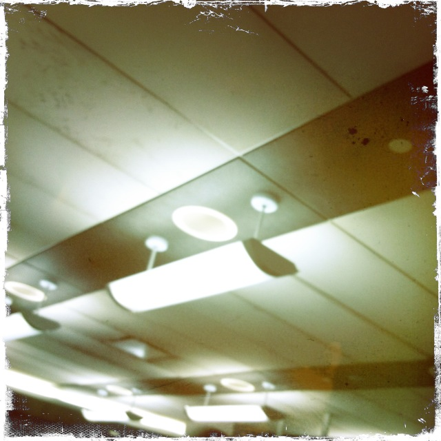 Nothing beats fluorescent lights.