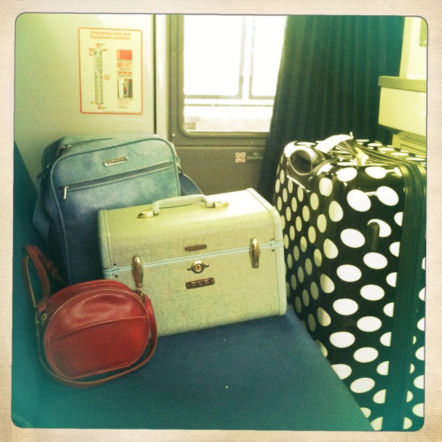 My luggage.